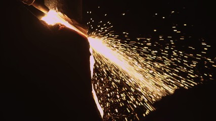 Sparks from the metal_3