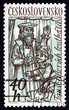 Postage stamp Czechoslovakia 1961 Puppets