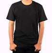 Black t-shirt template