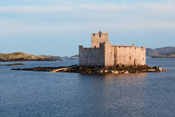 Kisimul castle, Castlebay, Isle of Barra, Outer Hebrides, Scotla