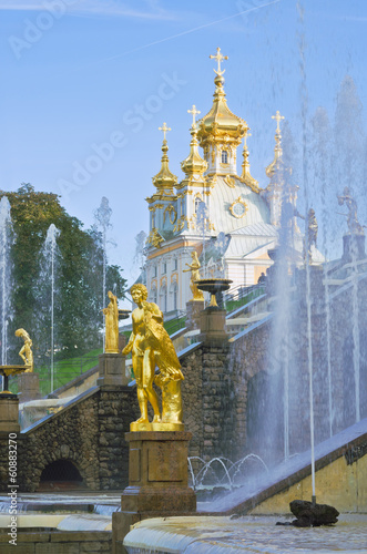 Peterhof near St.-Petersburg, Russia