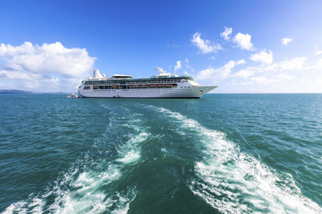 Cruising On The Pacific Ocean