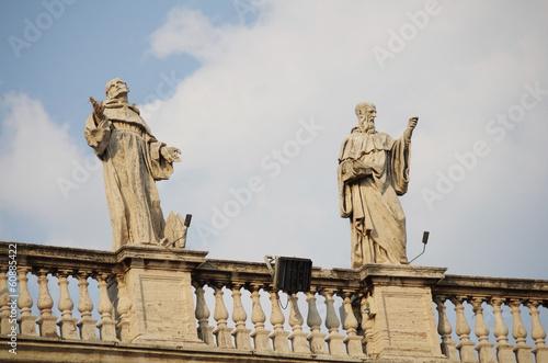 The Vatican Bernini's colonnade in Rome - 60885422
