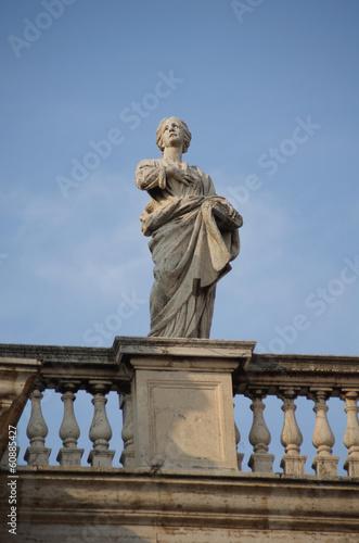 The Vatican Bernini's colonnade in Rome - 60885427