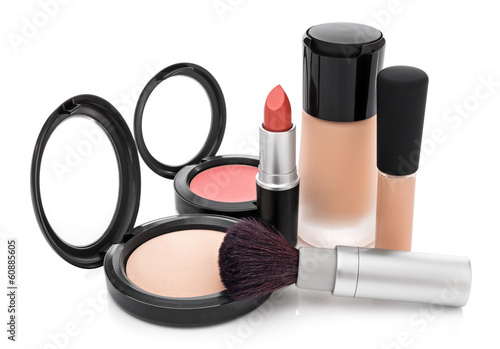 Makeup collection for natural look