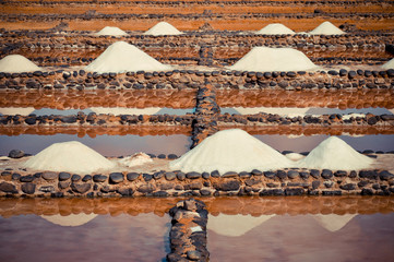 Sea salt traditional production