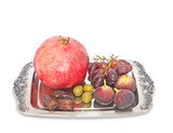 Tu B Shvat holiday.Pomegranate,grapes,figs,dates,olives