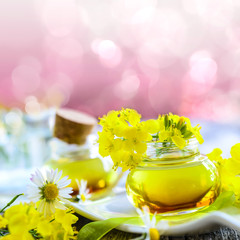 Rapsöl aus frischen Blüten