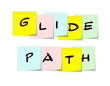 Glide Path Sticky Notes