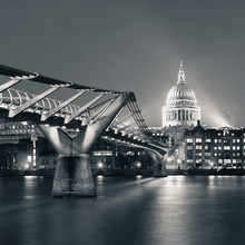 Millennium Bridge et St Pauls
