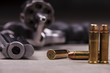 Leinwanddruck Bild - revolver
