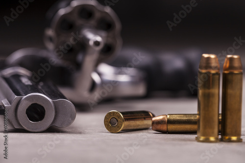 Leinwandbild Motiv revolver