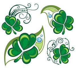 Shamrock clover design