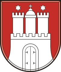 Hamburg. Coat of arms