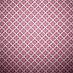 Stylish vector pattern (tiling). Pink color