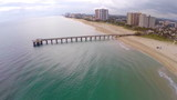 Aerial video of the beach