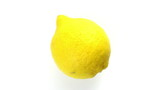 Lemon,  rotating,  upper view, studio shot