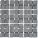 Abstract grey background - chess and 3d cubes