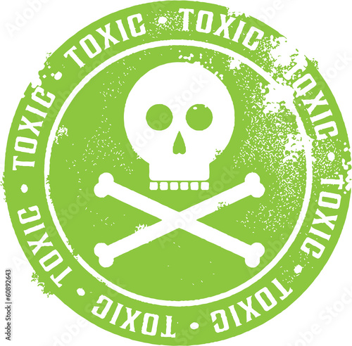 Toxic Danger Sign