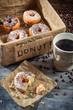 Fresh donuts to take away