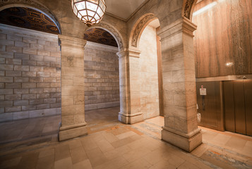 Superb architecture of New York Public Library