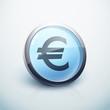 icône bouton internet euro argent finance