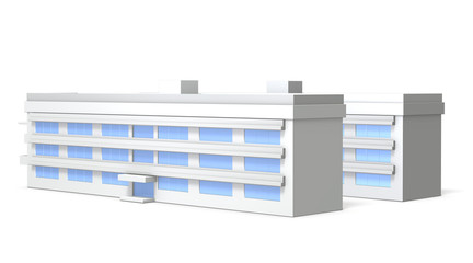Miniature model of school