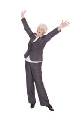 Happy Mature Businesswoman