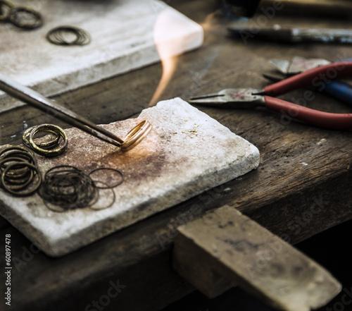 fototapeta na ścianę Produkcji biżuterii
