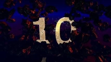 10 Geburtstag (3d Rendered Artwork)