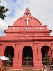 Malacca Christ Church in Malacca, Malaysia