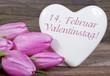 Valentinstag am 14. Februar