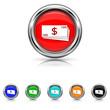 Money icon - six colours set