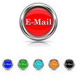 E-mail icon - six colours set