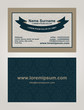 Business Card creative design, elegant style print