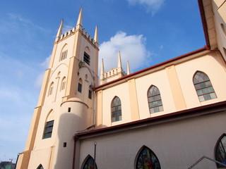 St. Francis Xavier Church in Malacca, Malaysia
