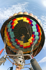 Multi color Baloon in Monument Valley sky