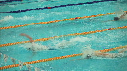 finish sports swimming
