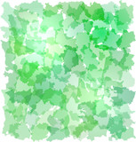 Abstract green background with French departments