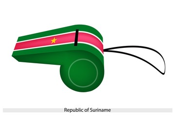 A Whistle of The Republic of Suriname