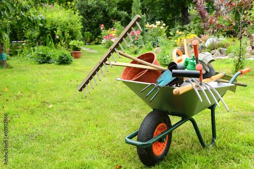 Fotobehang Bloemen Garten 110