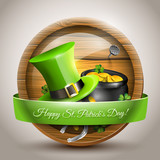 St Patrick's Day - vector icon