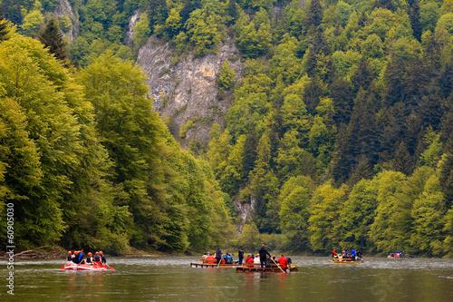 Wiosenny Spływ Przełomem Dunajca