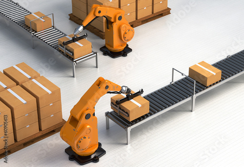 Robotic Palletizing and Packaging concept