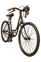 Retro styled image of a nineteenth century bicycle