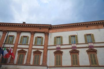 Trinci palace. Foligno. Umbria. Italy.