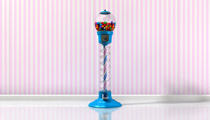 Gumball Machine In A Candy Store