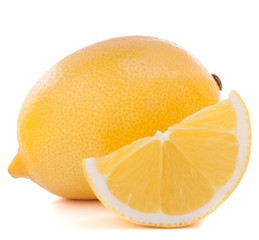 Lemon or citron citrus fruit