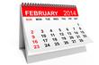 Calendar February 2014
