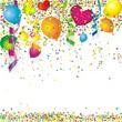 Geburtstagshintergrund